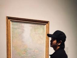 牛浩东参观《西方绘画500年》展览