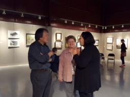美国俄亥俄国际艺术交流展开幕    牛浩东油画在展览上亮相