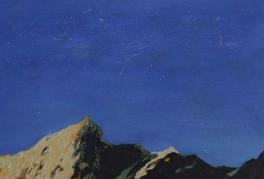 星空下的祁连山