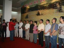梁宗孟、野雪、罗如琪牛浩东四人油画作品展26日在兰隆重开幕