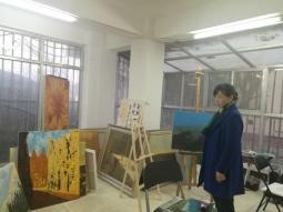 甘肃省公证协会秘书长参观牛浩东工作室